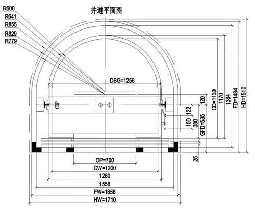 弧形万博安卓版标准尺寸