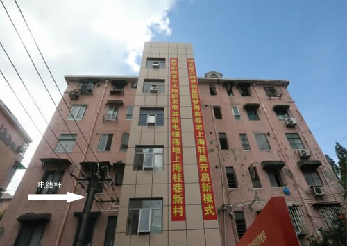 上海普陀区桂巷新村